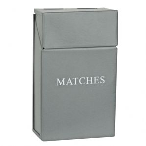 Match Holder - Grey